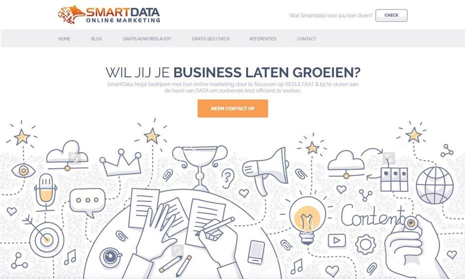 Smart Data website illustration