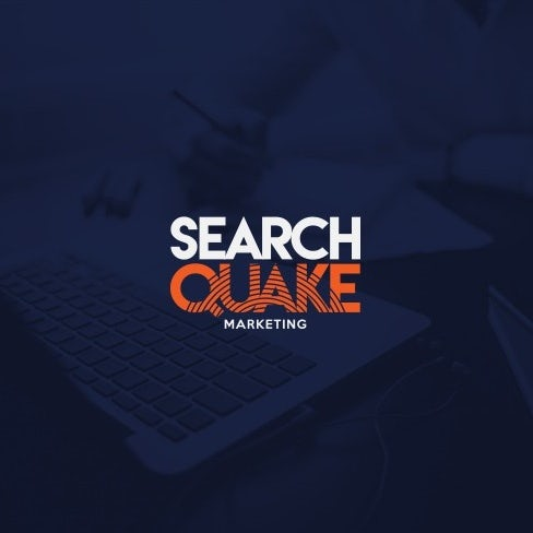Bold sans serif digital marketing wordmark logo