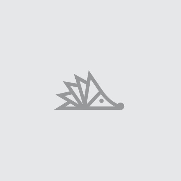 Monoline hedgehog mascot digital marketing logo