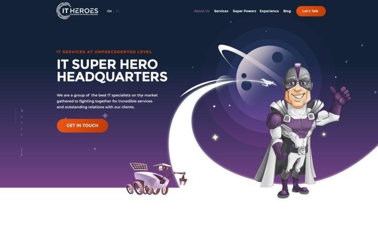 IT Heroes website