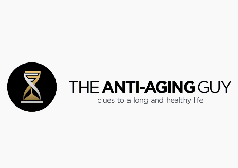 brand personality design for The Anti-Aging Guy