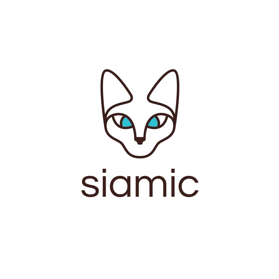 Logo design for siamic