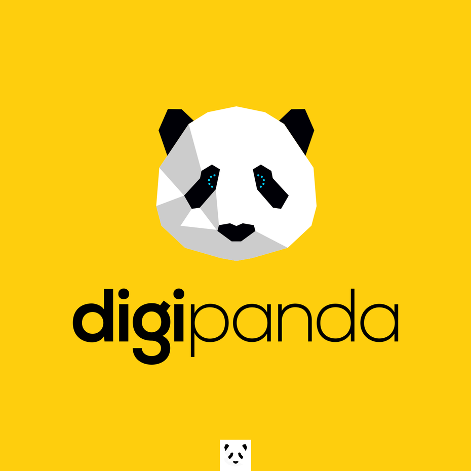 brand personality design for digipanda