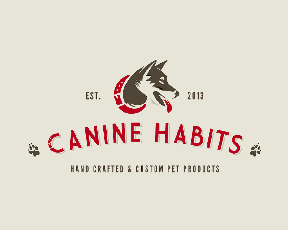 brand personality design for Canine Habits