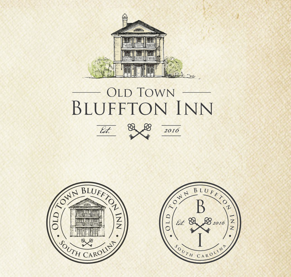 logo design for Old Town Bluffton Inn