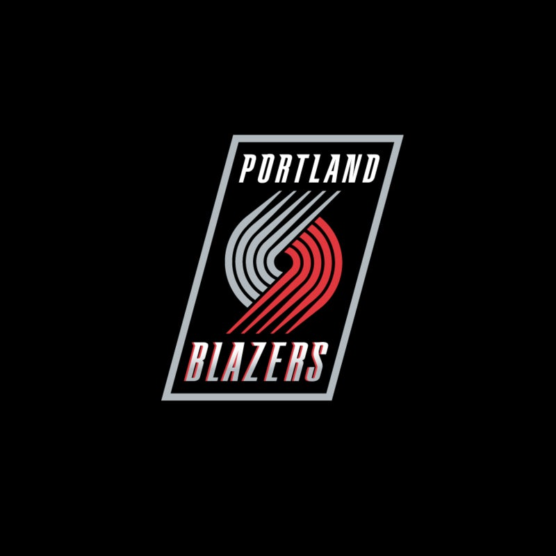 bad logo design of Portland Blazers