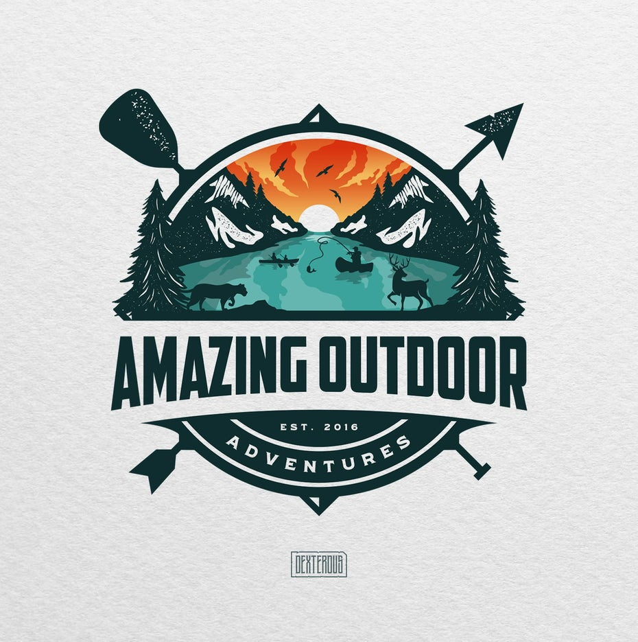 logodesign für Amazing Outdoor