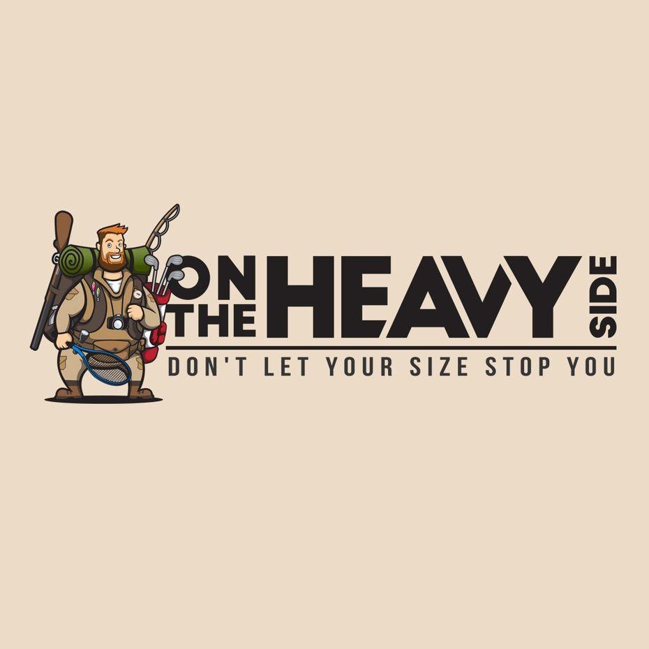 bad logo design of On The Heavy Side