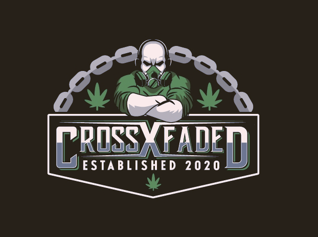 bad logo design of Cross Faded