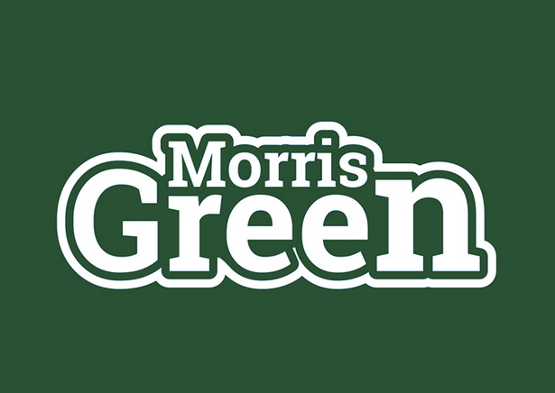 bad logo design of Morris Green