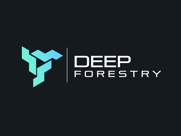 bad logo design of Deep Forestry