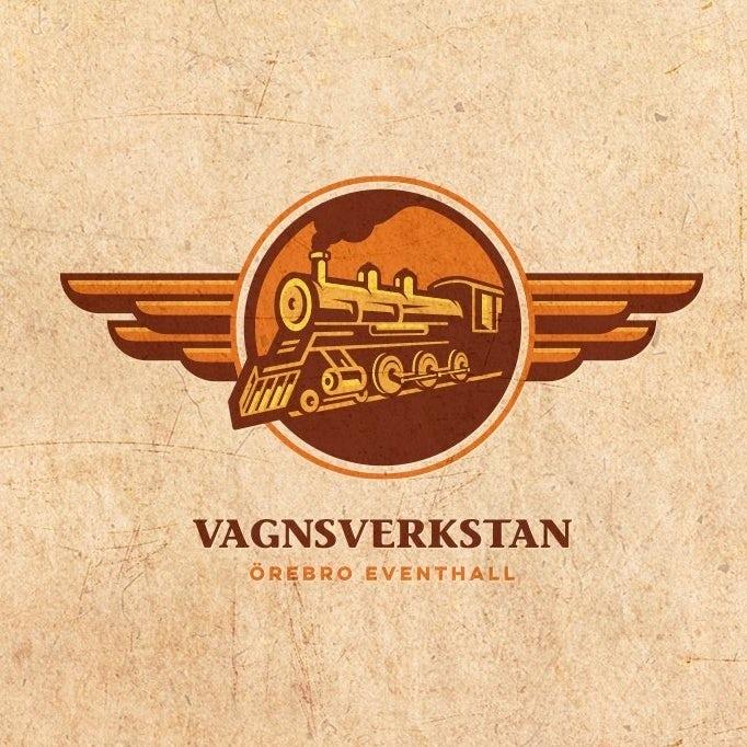 brown train logo