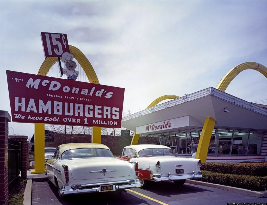 the first McDonalds restaurant