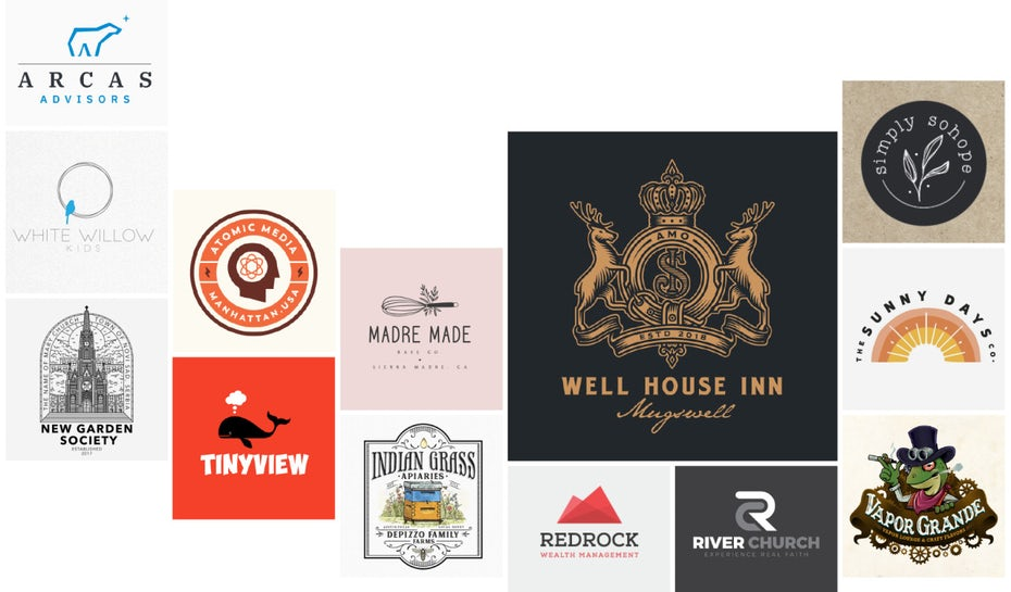 collection of Business logos & small business logos
