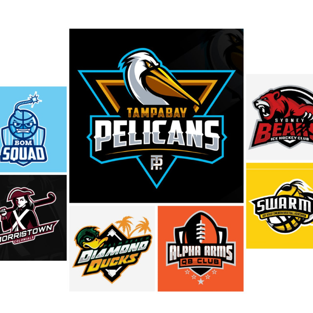 Best Sports Logos 31 Winning Examples For Your Club Or Team