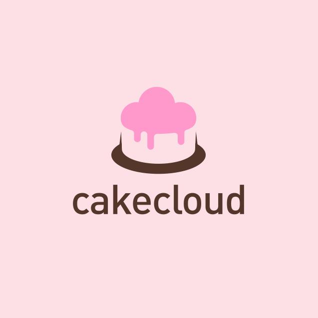 pink cake cloud logo