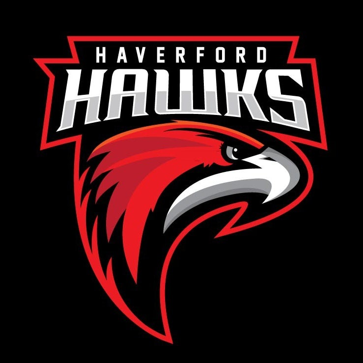 sports logo for Haverford Hawks