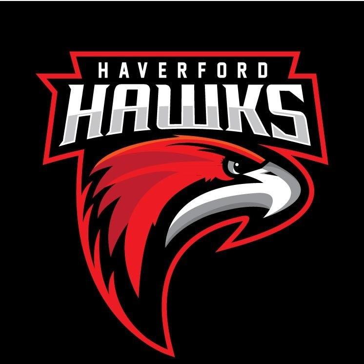 sports logo for Haverford Hawks
