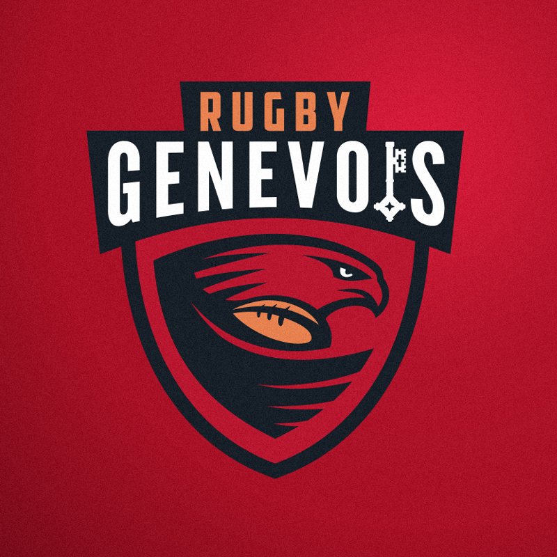 sports logo for Rugby Genevois