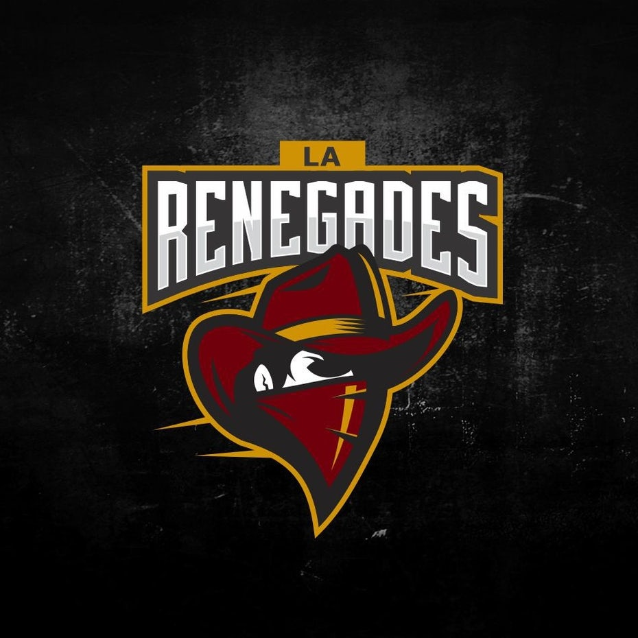 sports logo for L.A. Renegades