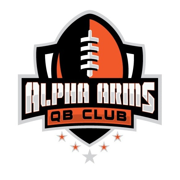 sports logo for Alpha Arms Football Club