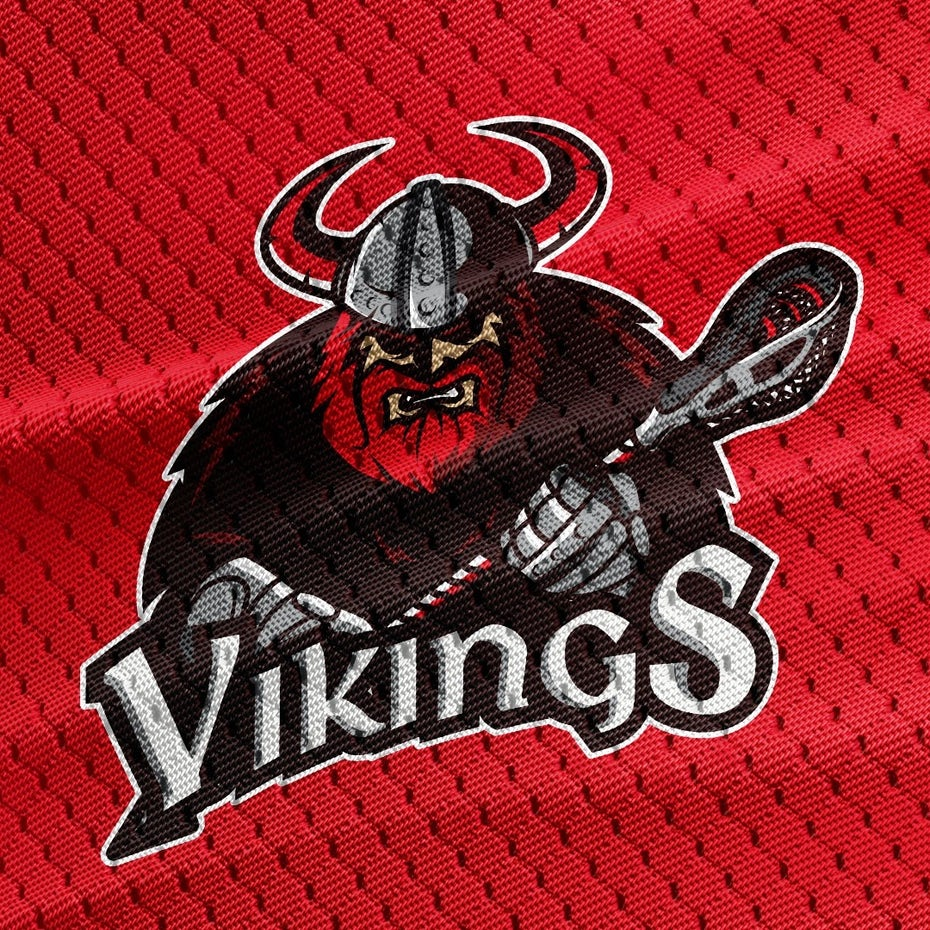 sports logo for Vikings Lacrosse