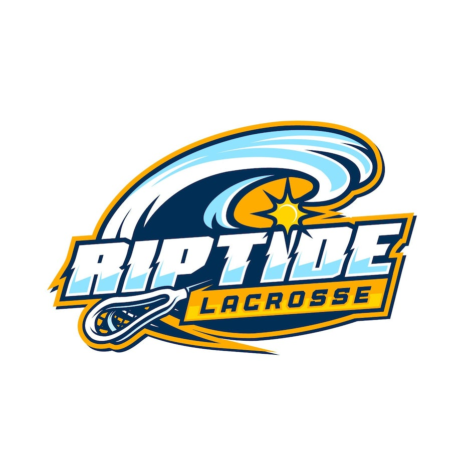 sports logo for Riptide Lacrosse