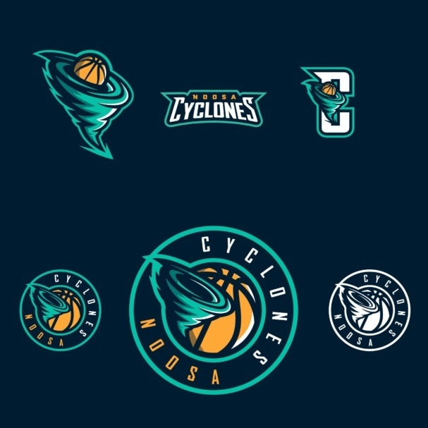 sports logo for Noosa Cyclones