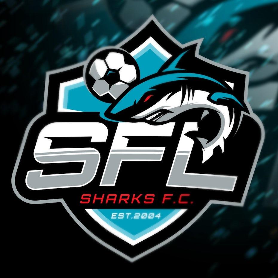 sports logo for Sharks for Life