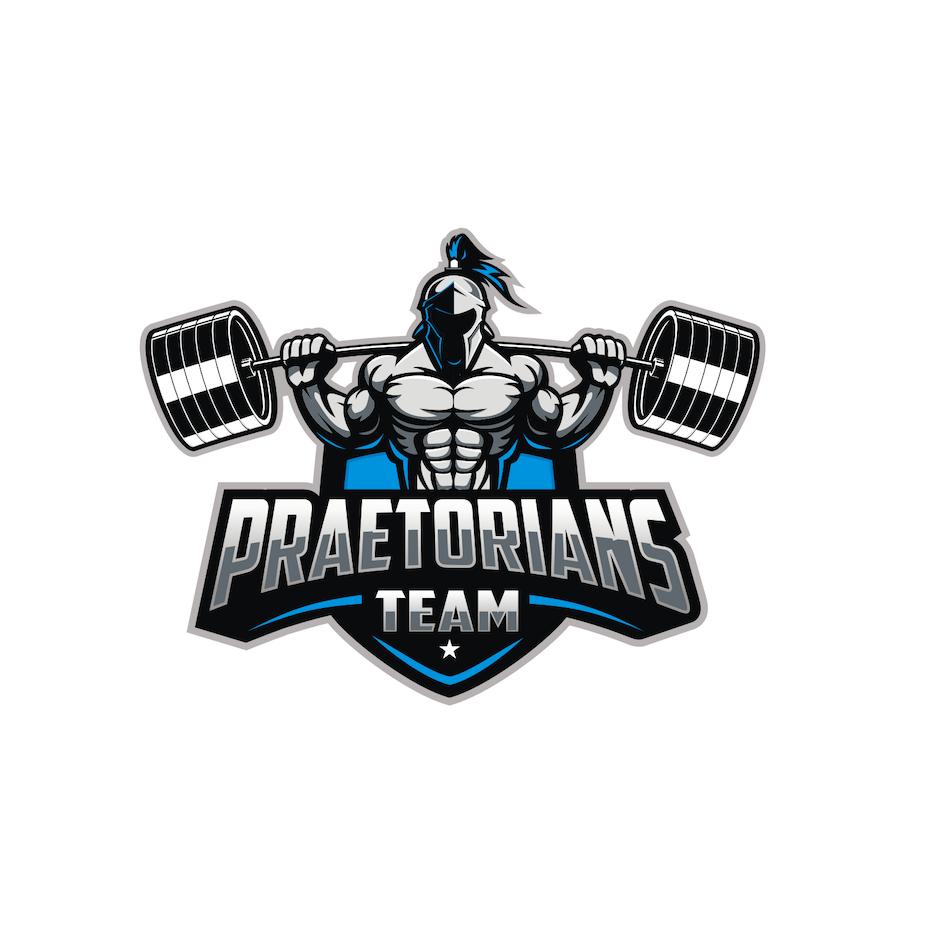 sports logo for Praetorians Team