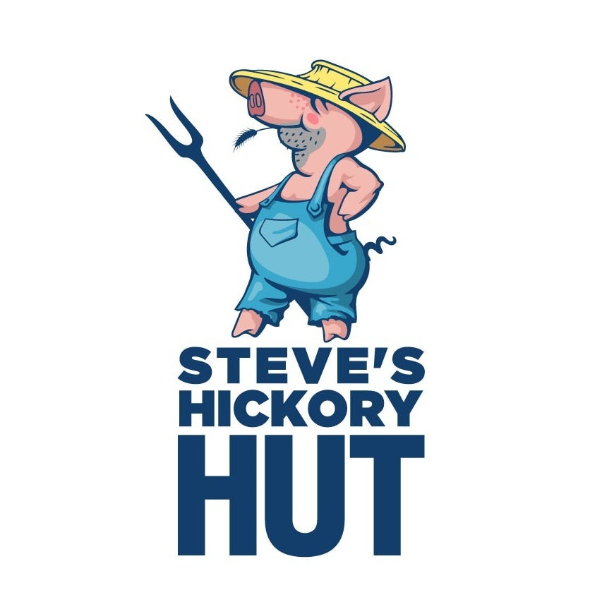 small business logo with pig mascot
