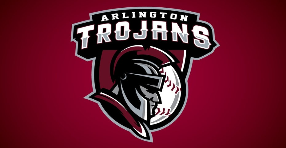 sports logo for Arlington Trojans