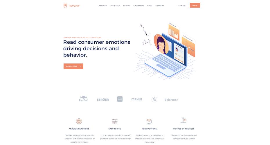 Un design de site web avec une structure claire