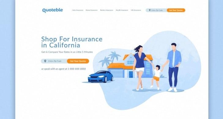Design de site web accessible pour Quoteble
