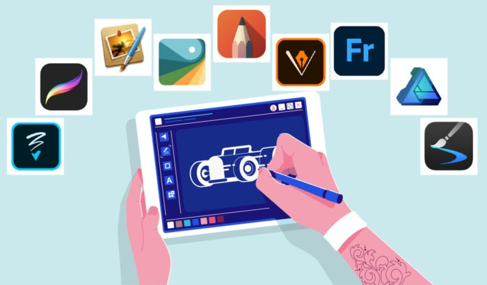 illustration: beste zeichen-apps und zeichenprogramme