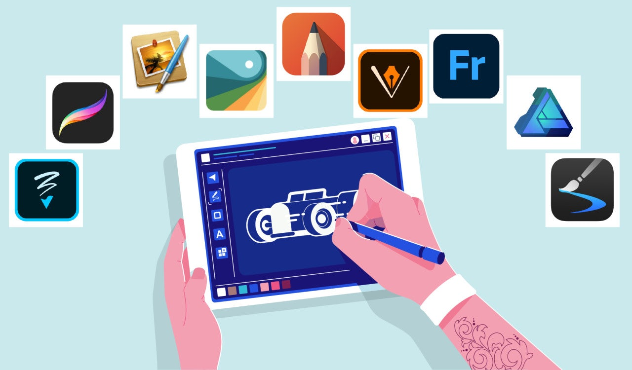 The Best Drawing Apps And Digital Art Apps For Every Skill Level 99designs