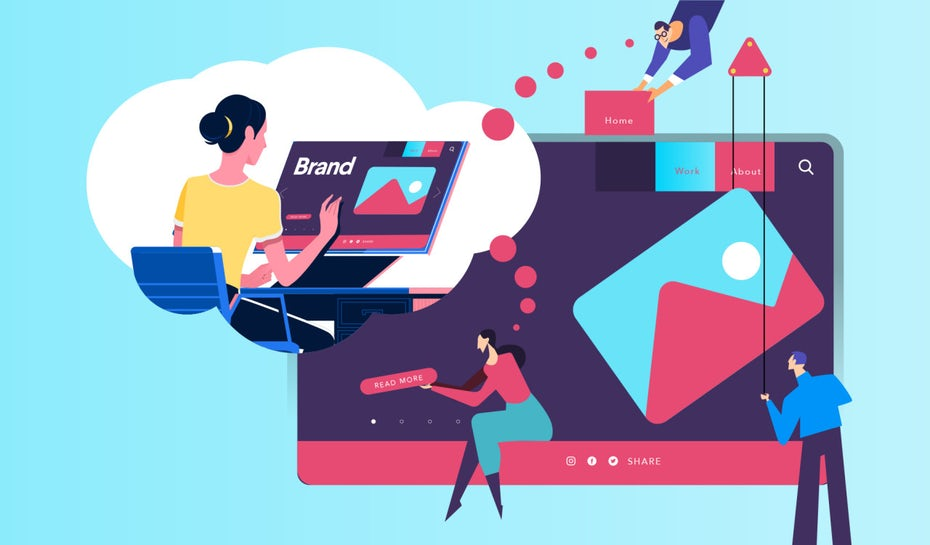 Illustration sur les principes de base du design UX