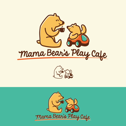 Mama Bear's Play Cafe Logo