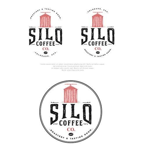 Nostalgic Coffee Silo Branding