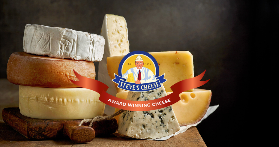 multi-part cheese ecommerce website