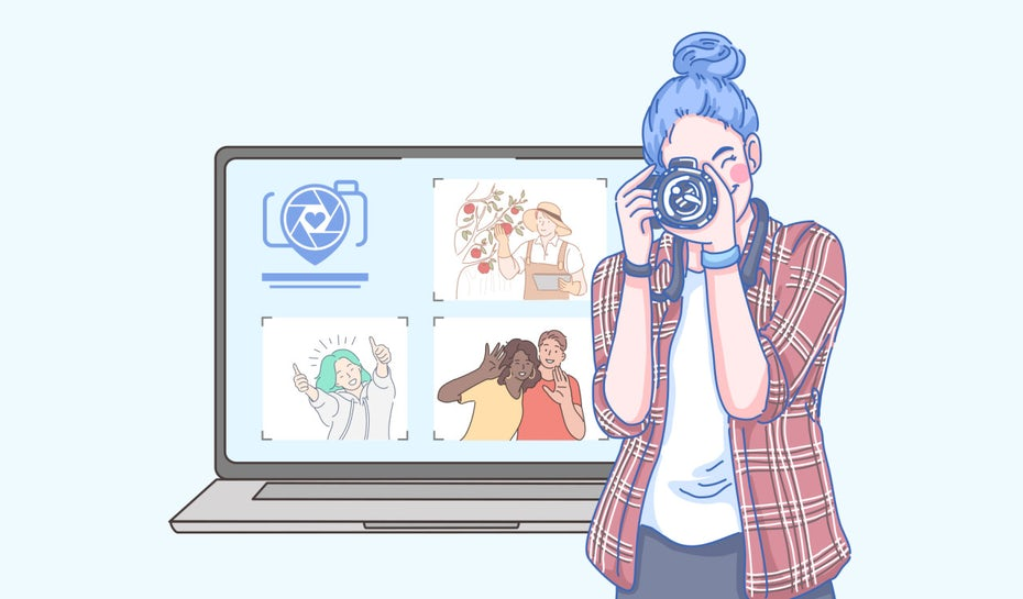 7 tips for designing a stunning photography website