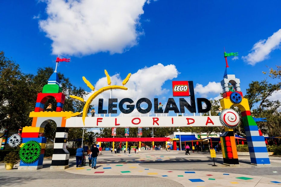 Legoland visuelles Marketing