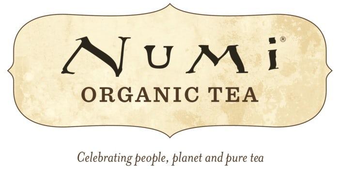 Design de logo de Numi tea, un de nos exemples de marques éco-responsables