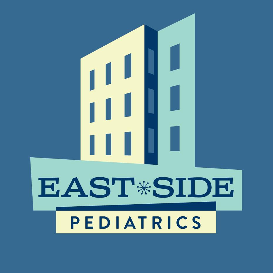 Arzt-Logo mit Haus
