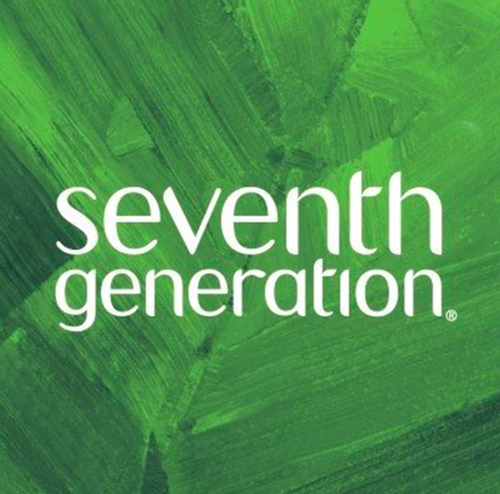 grünes Seventh Generation logo