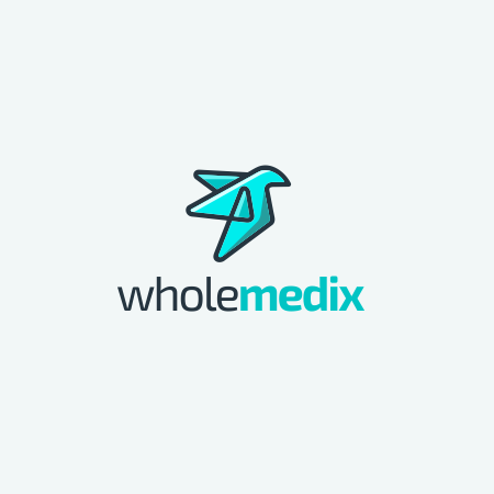 Arzt-Logo mit Vogel