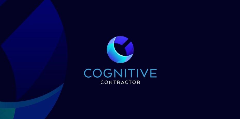 Design de logo suggérant un croissant de lune moderne pour une entreprise dans la tech