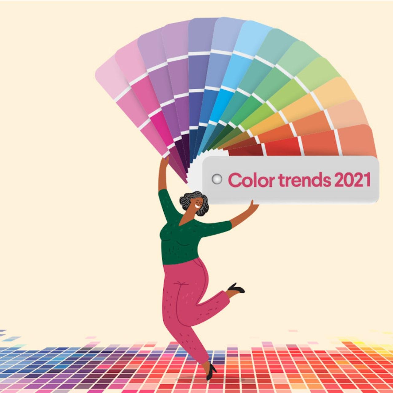 9 Brilliant Color Trends For 2021 99designs
