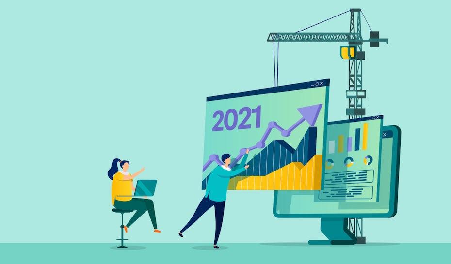 Les 9 meilleures tendances en design web de 2021