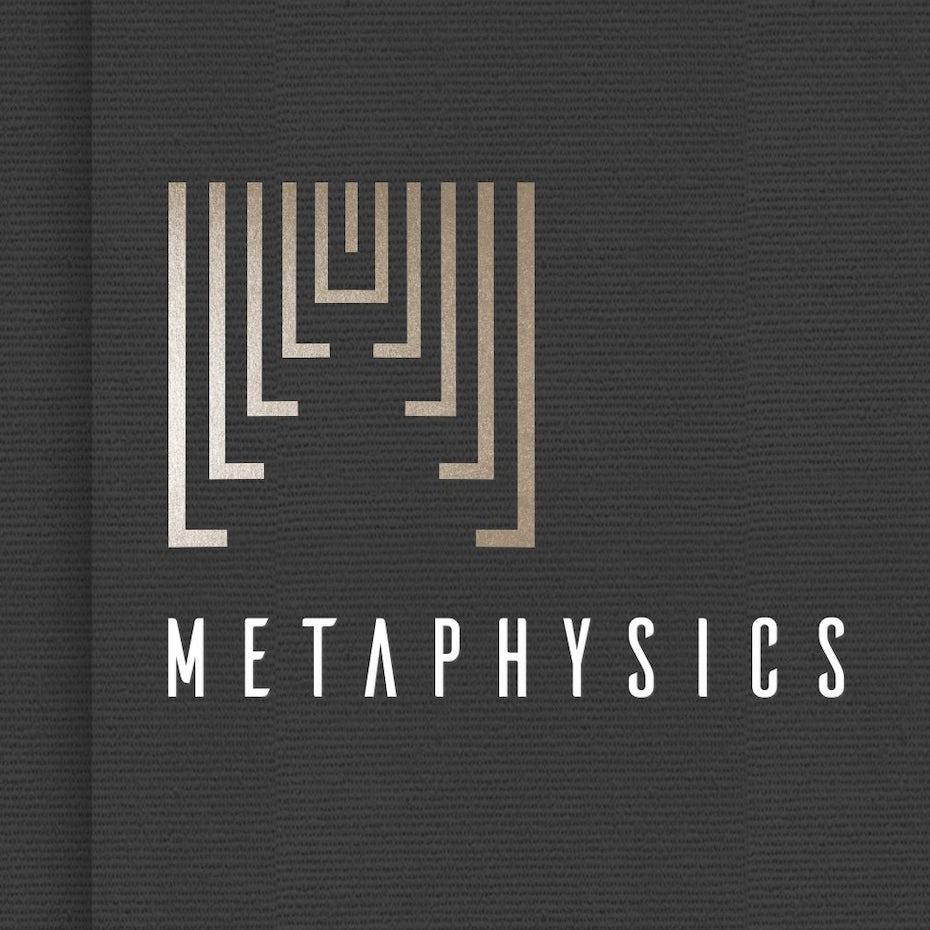 Minimalist perspective logo design
